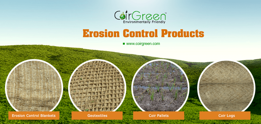 Erosion control products: cost effective alternatives for revegetation