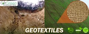 Coir geotextiles stabilised slope monitoring