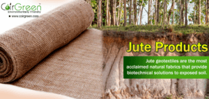 The Golden Fibre – CoirGreen™ Jute Products