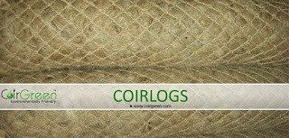 Coir Logs – A proven way to prevent soil erosion